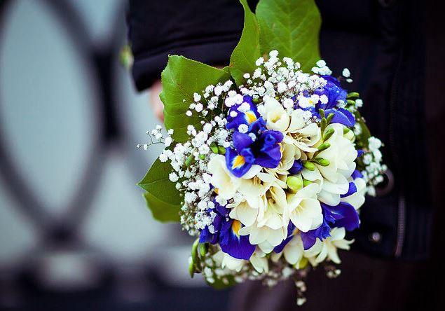 Букет невесты живые цветы