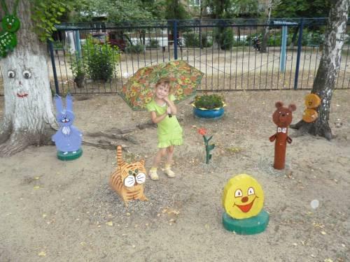 Украшения детских садов своими руками