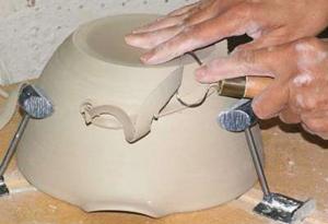 Как сделать горшки для цветов из глины